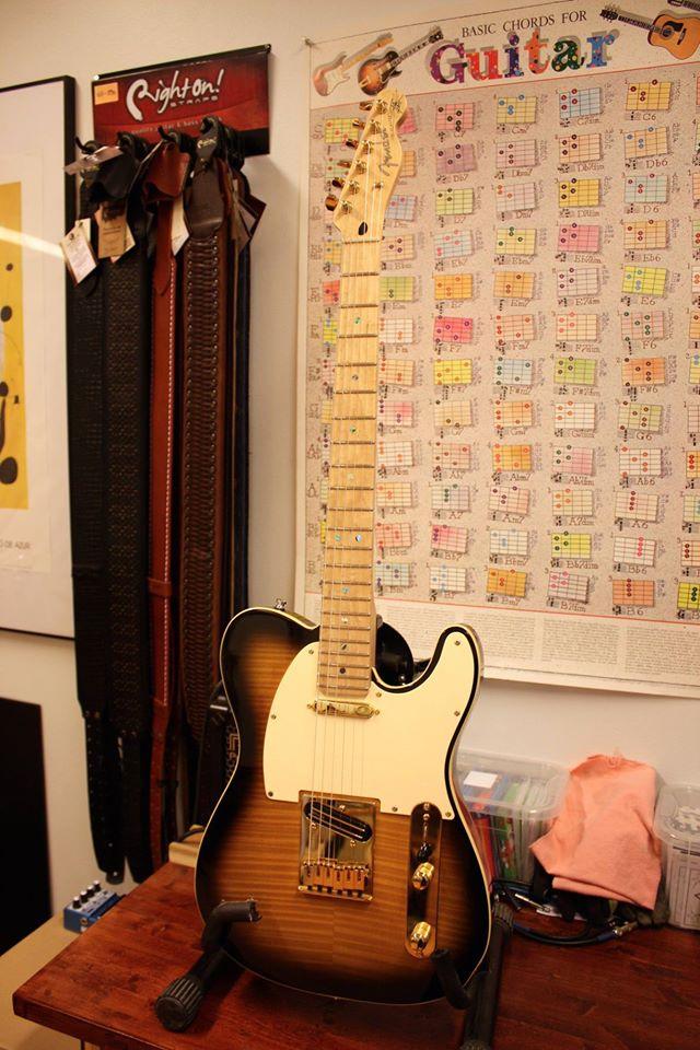 kitarahuolto, bassohuolto, telecaster, dimarzio, fender